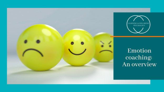 Emotion coaching: an overview webinar
