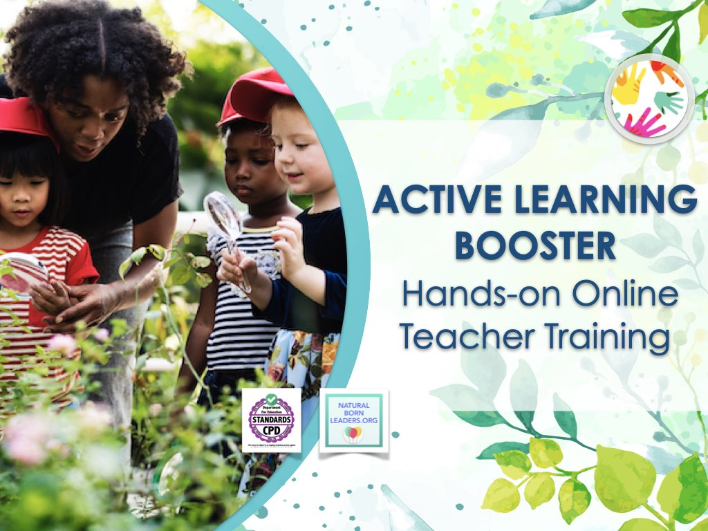 Active Learning Booster - teacher training program by Natural Born Leaders