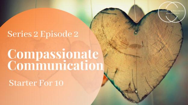 Compassionate communication